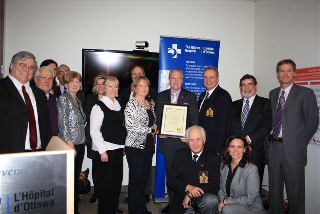The Bruce Denniston Society Crew at the 100th Courier Mission